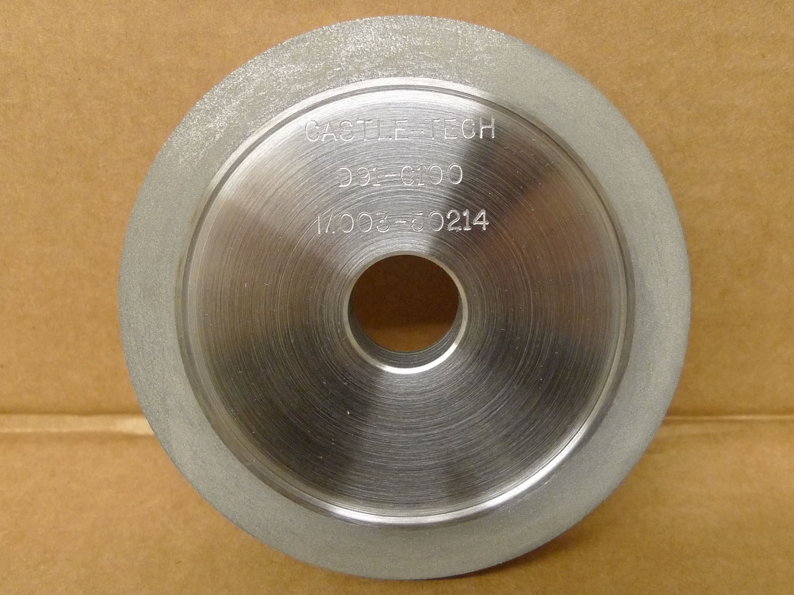 METAL-BONDED WHEELS